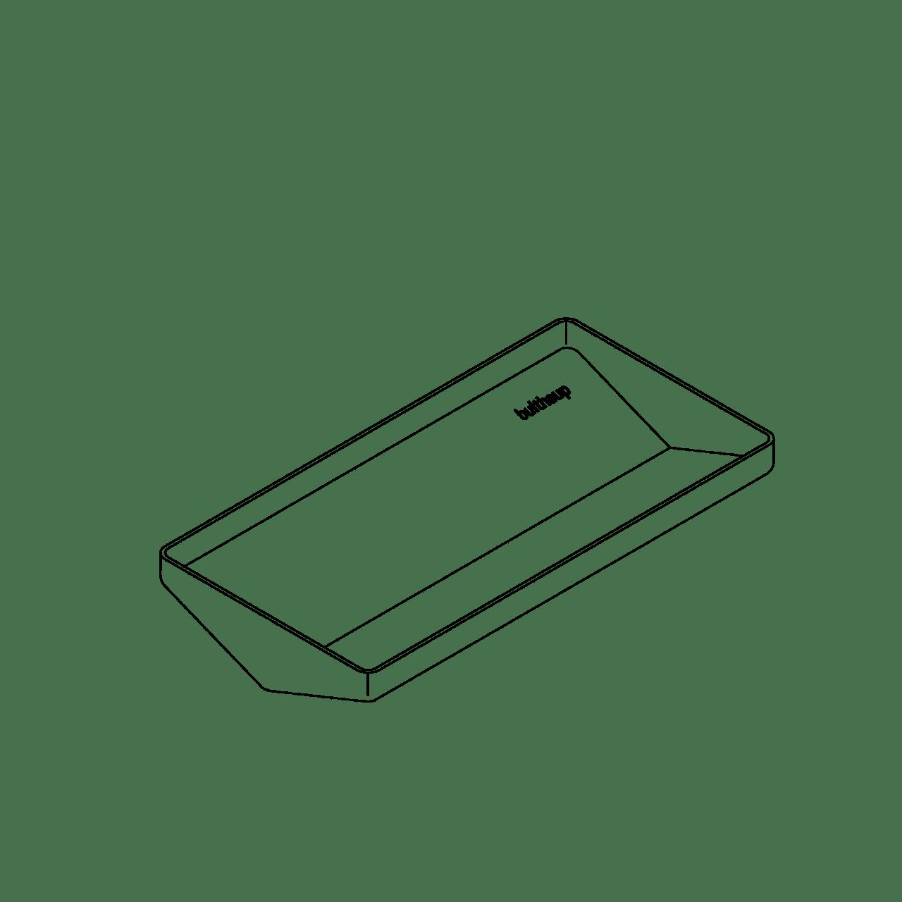 Utensilien-Schale für funktionale Prismen