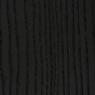 Esche, schwarz gebeizt