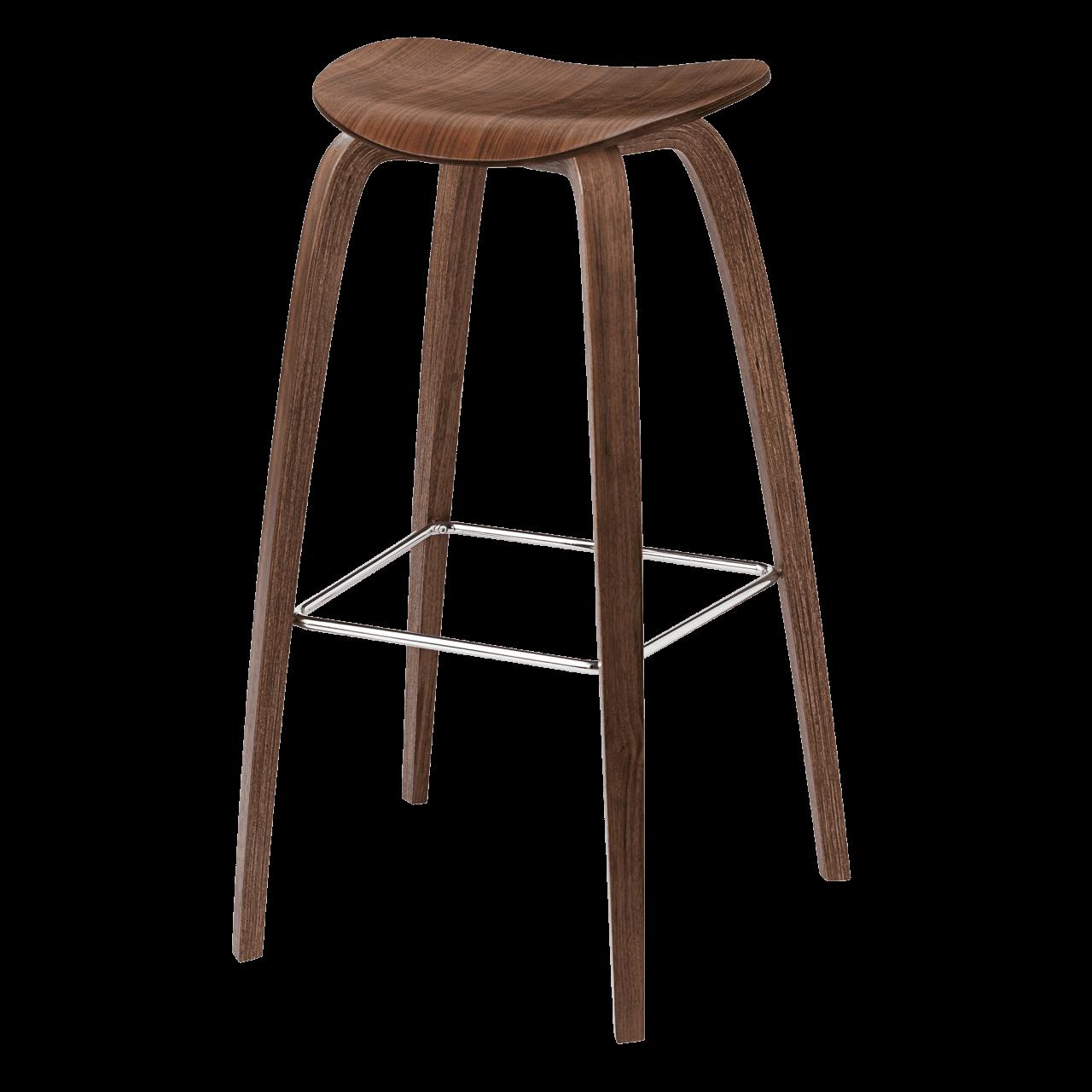 2D Barhocker Holzgestell