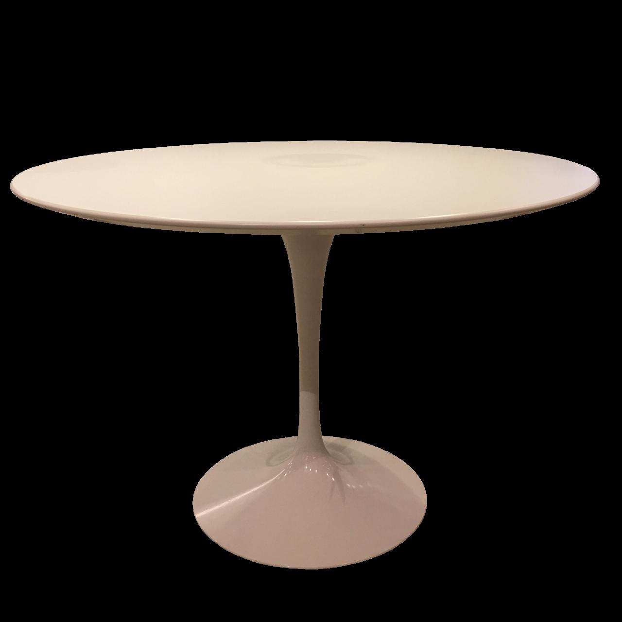 Saarinen Esstisch rund weiß