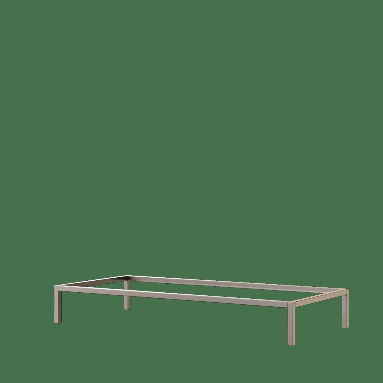 Aluminium Bett