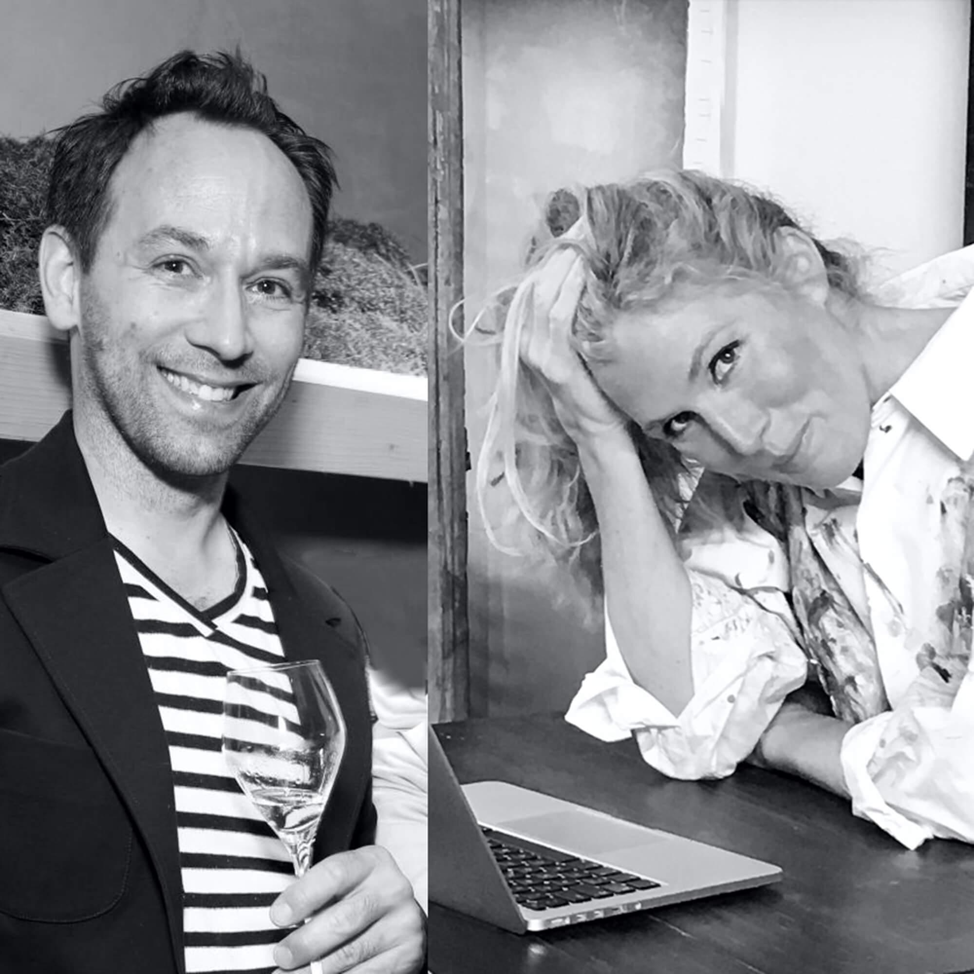 Julia Thesenfitz und Christian Wedekind