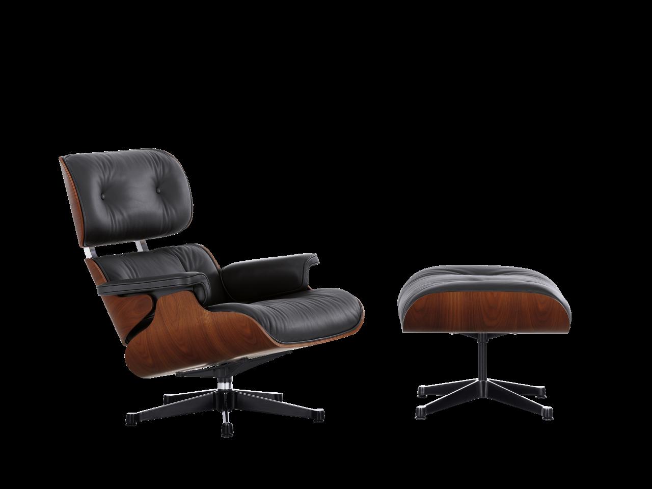 Lounge Chair und Ottoman Limited Edition Mahagony