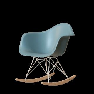 RAR Eames Plastic Chair Schaukelstuhl