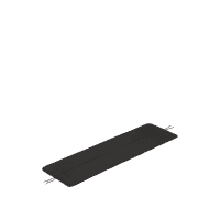 Linear Steel Bank Sitzkissen