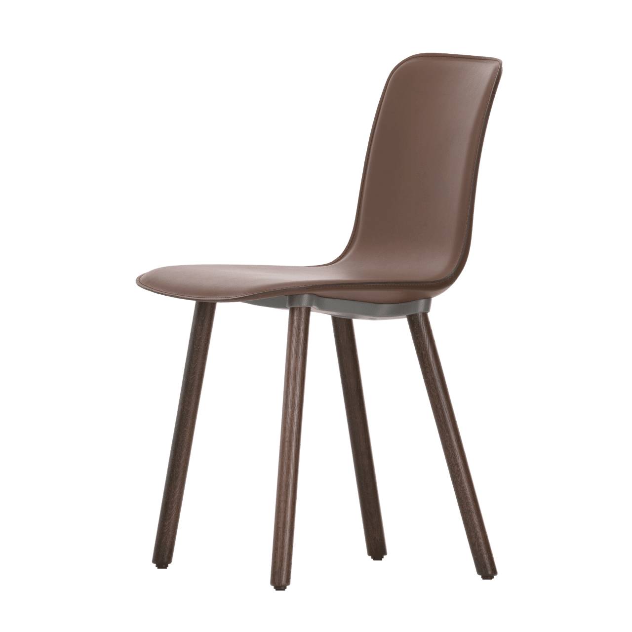 HAL Leather Wood Stuhl