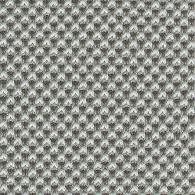 3D-Strickstoff hellgrau/creme