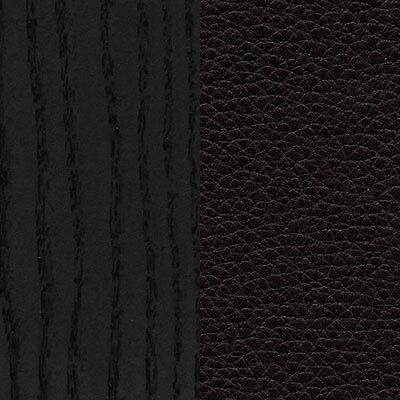Esche, schwarz/Leder Natural nero