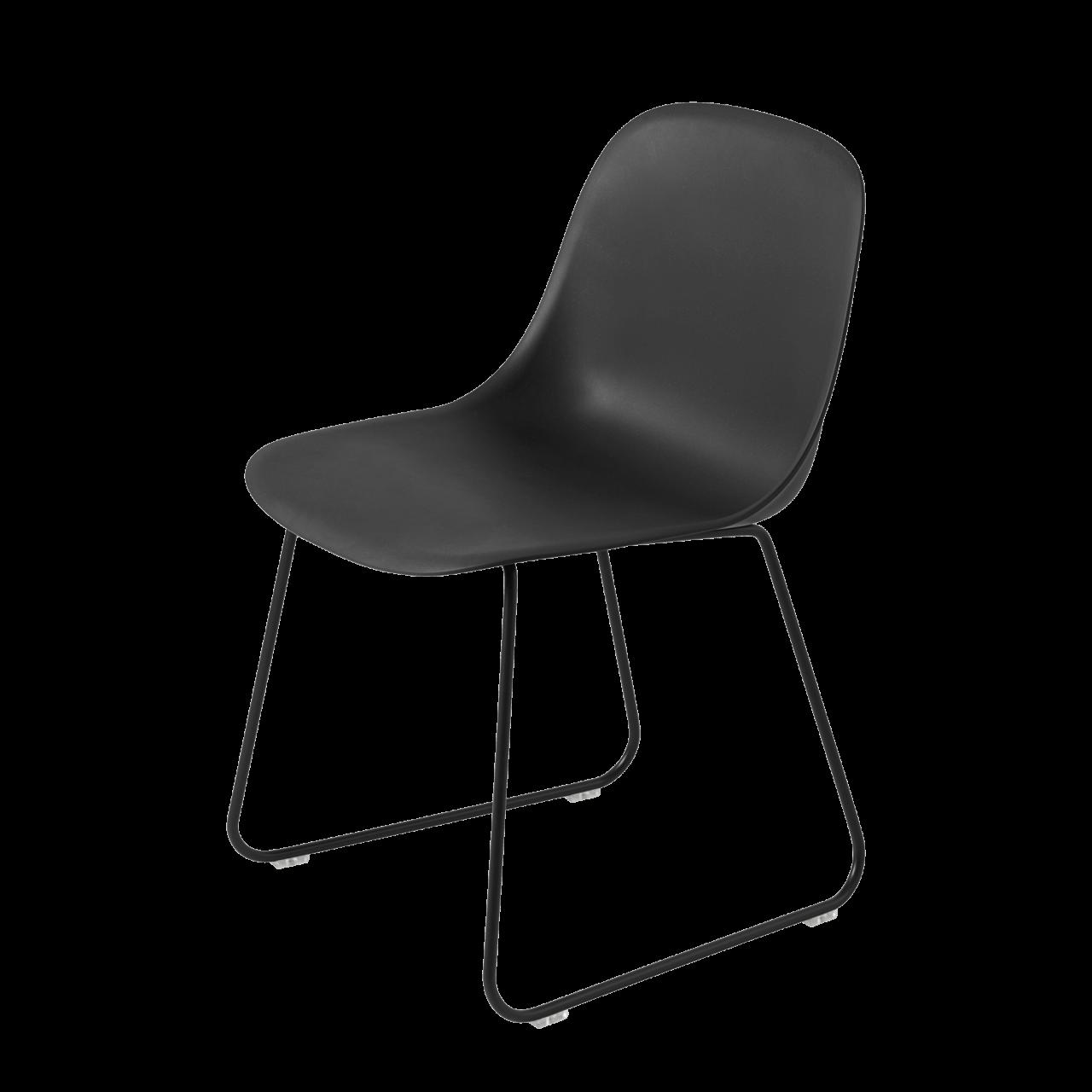 Fiber Stuhl Kufengestell
