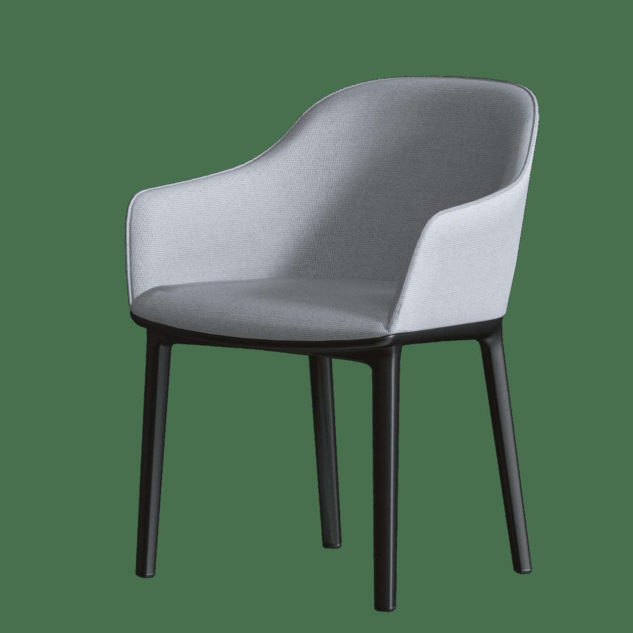 Softshell Chair Vierbein-Untergestell