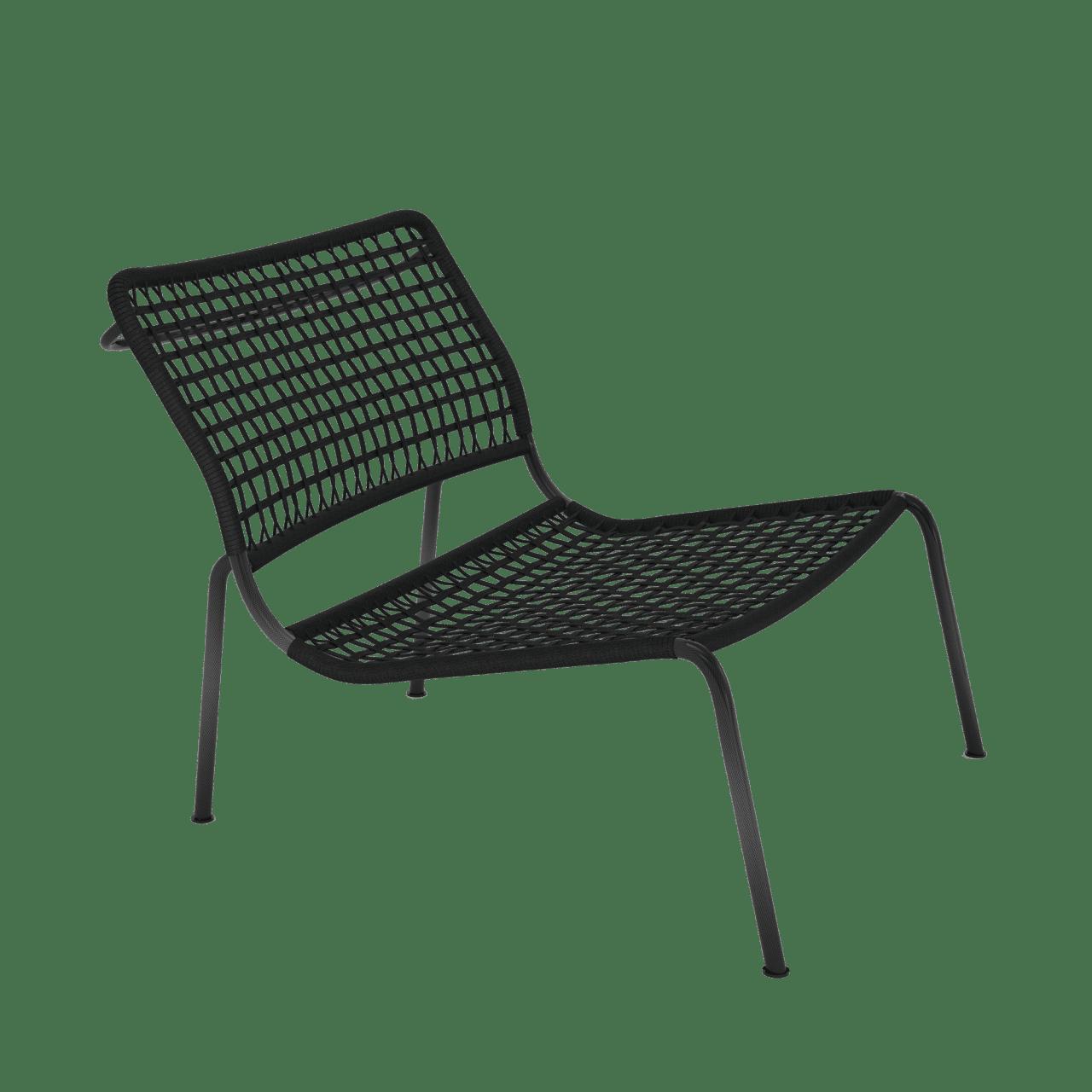 Carbon Frog Sessel