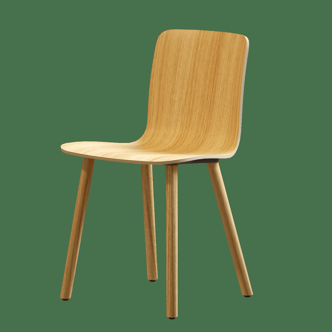 HAL Ply Wood Stuhl