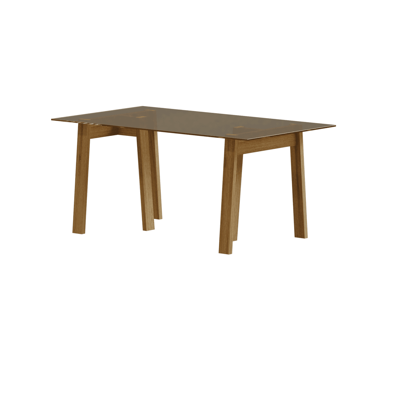 DC08 Basis Tisch mit Böcken