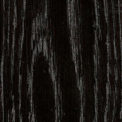 Eiche, schwarz lackiert