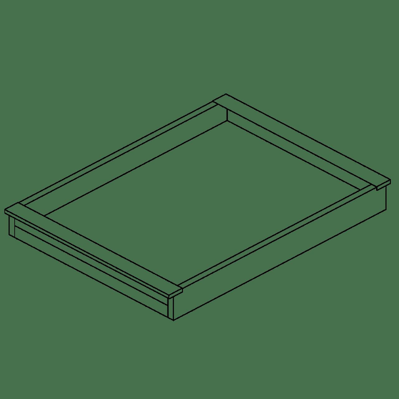 Tablett, Holz