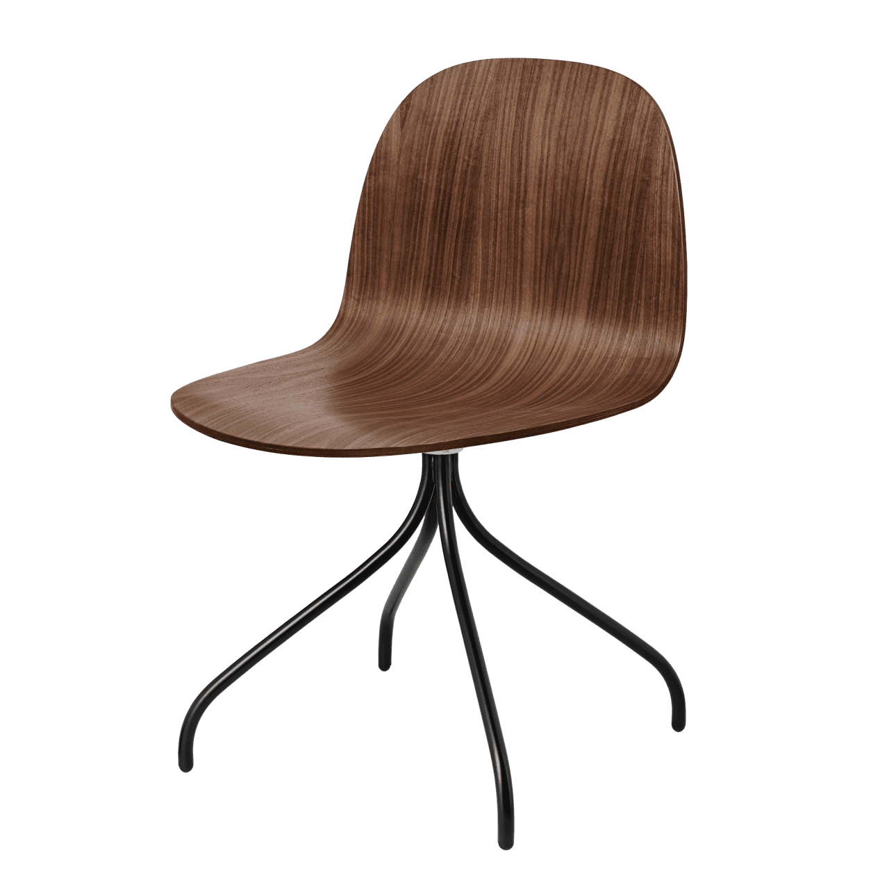 2D Meeting Chair Vierfußgestell