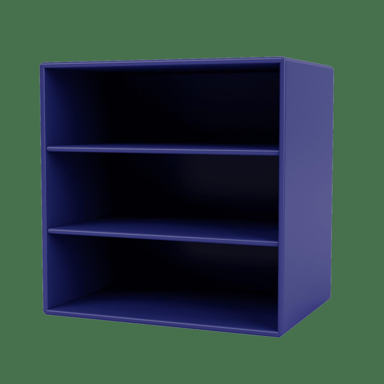 Mini 1004 Wandregal mit horizontalen Fächern