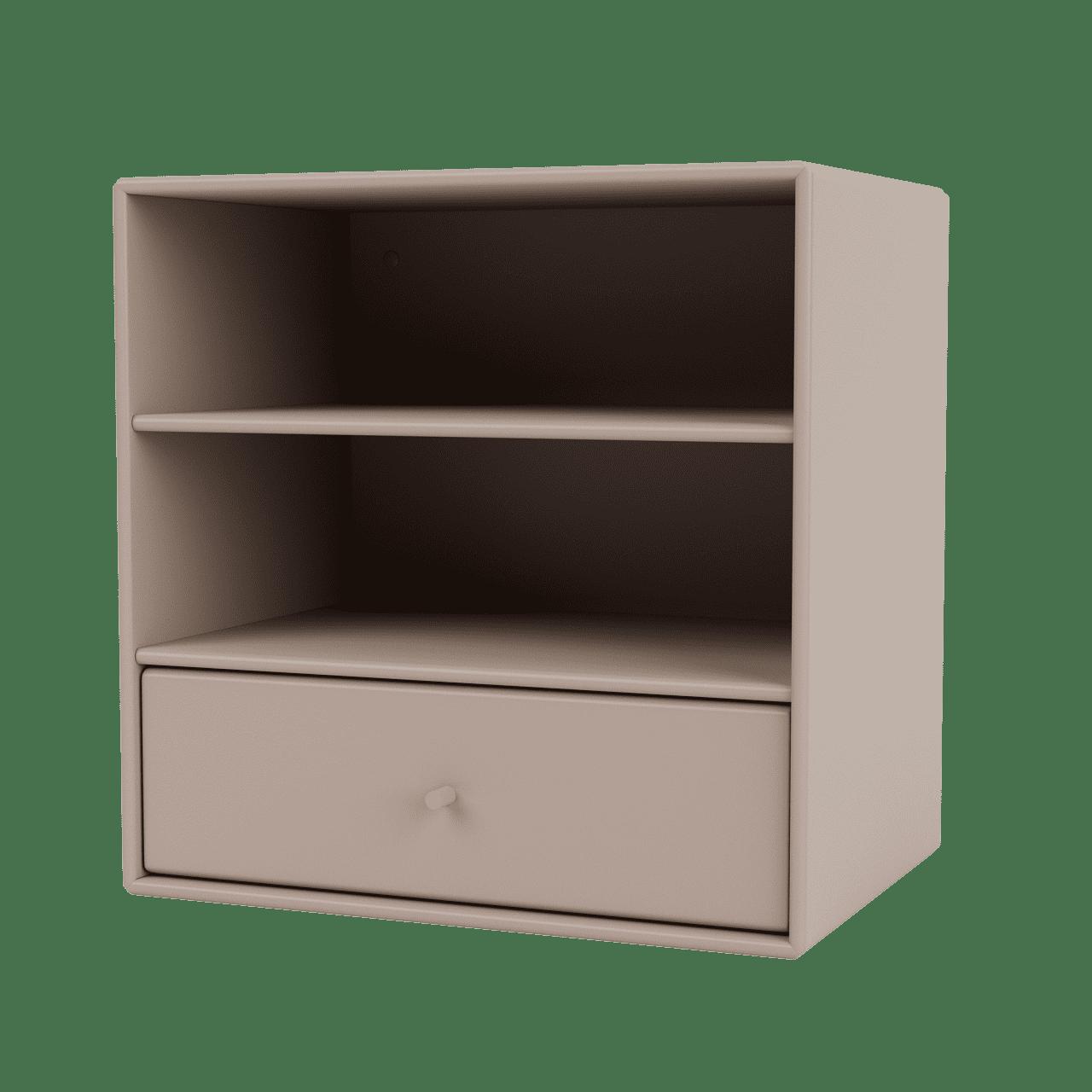 Mini 1005 Wandregal mit einer Schublade