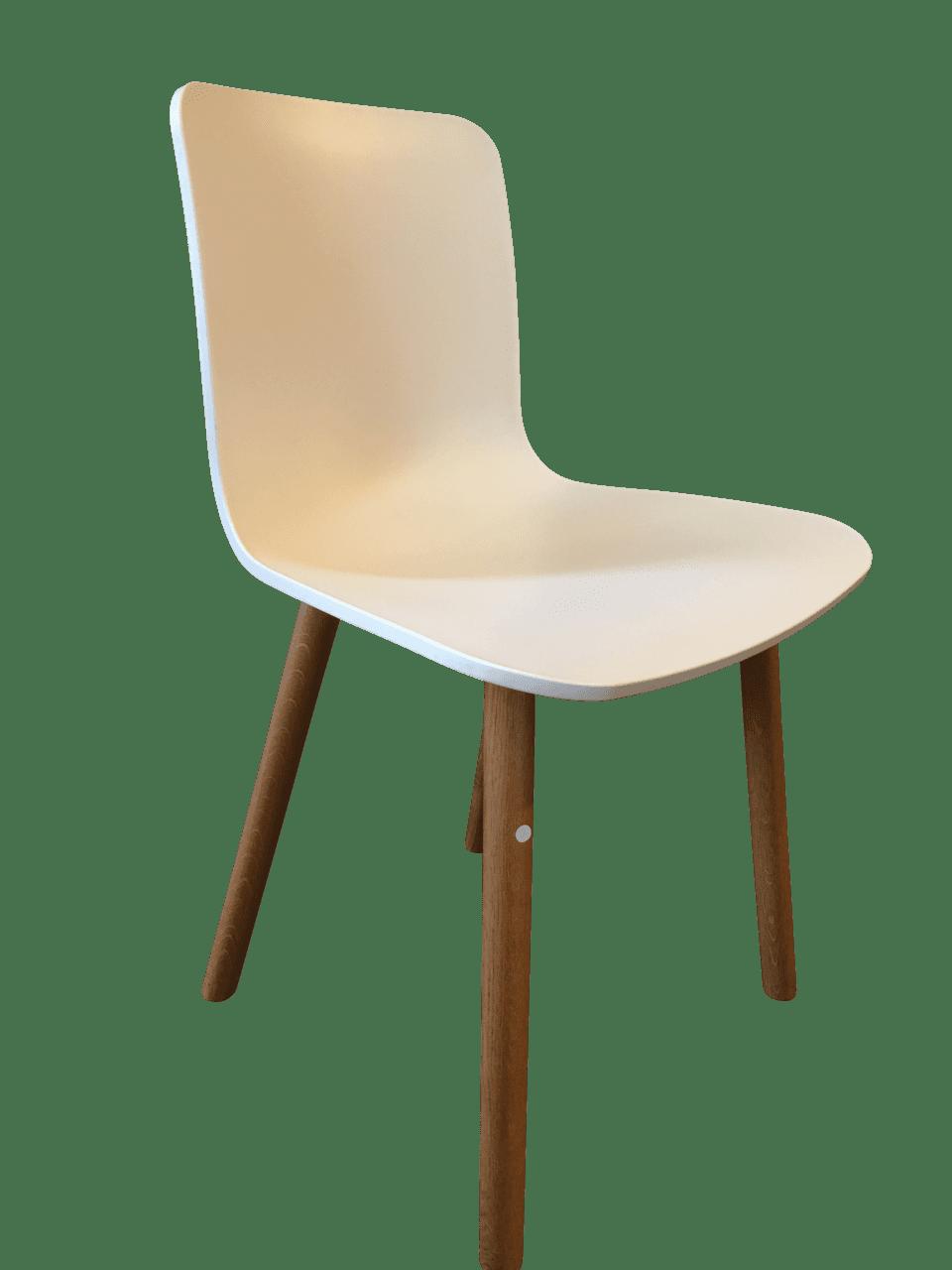 Hal Wood Stuhl weiß