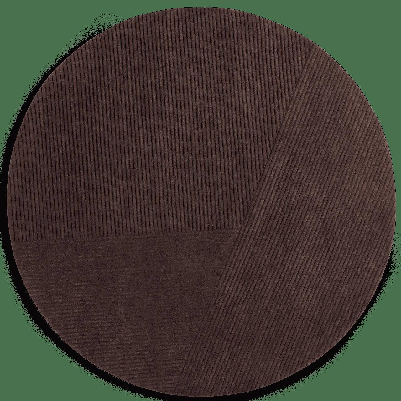 Row Circular Teppich