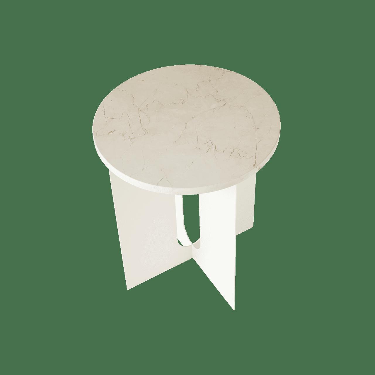 Androgyne Side Table Marble Beistelltisch