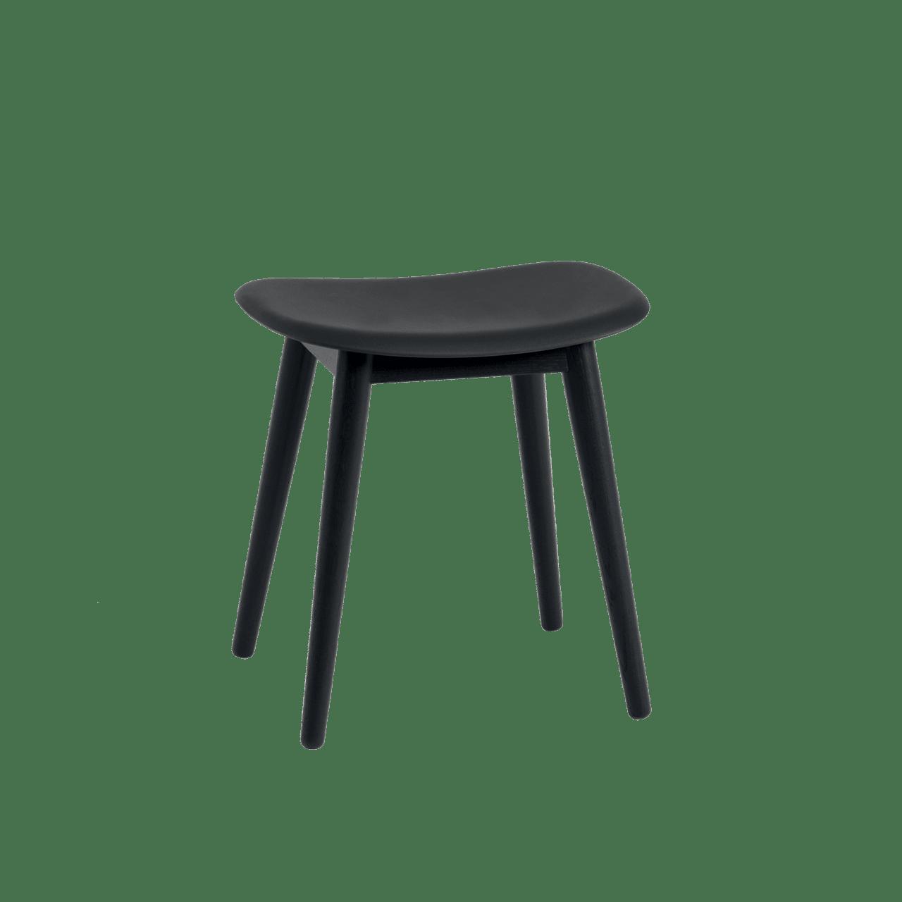 Fiber Hocker Holzgestell