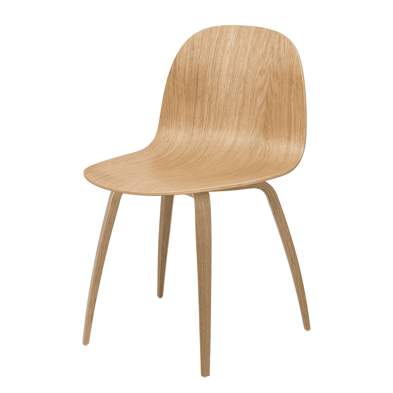 2D Dining Chair Holzgestell