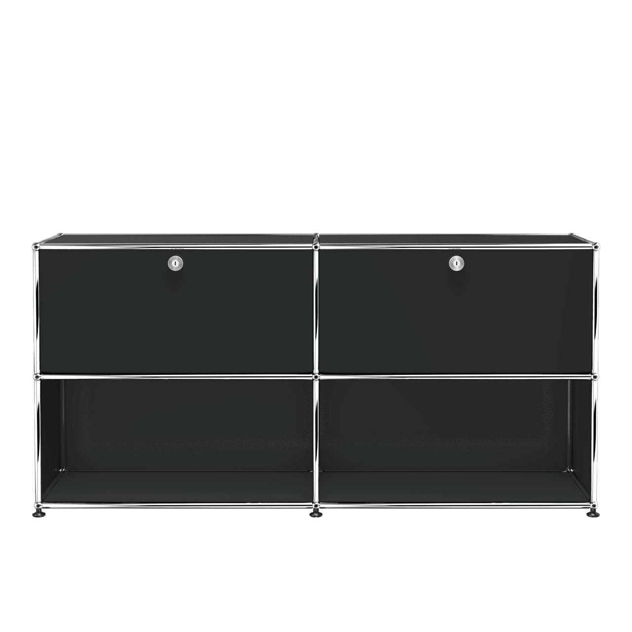Haller Sideboard 2x2 mit Klappen oben