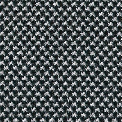 3D-Strickstoff schwarzweiß