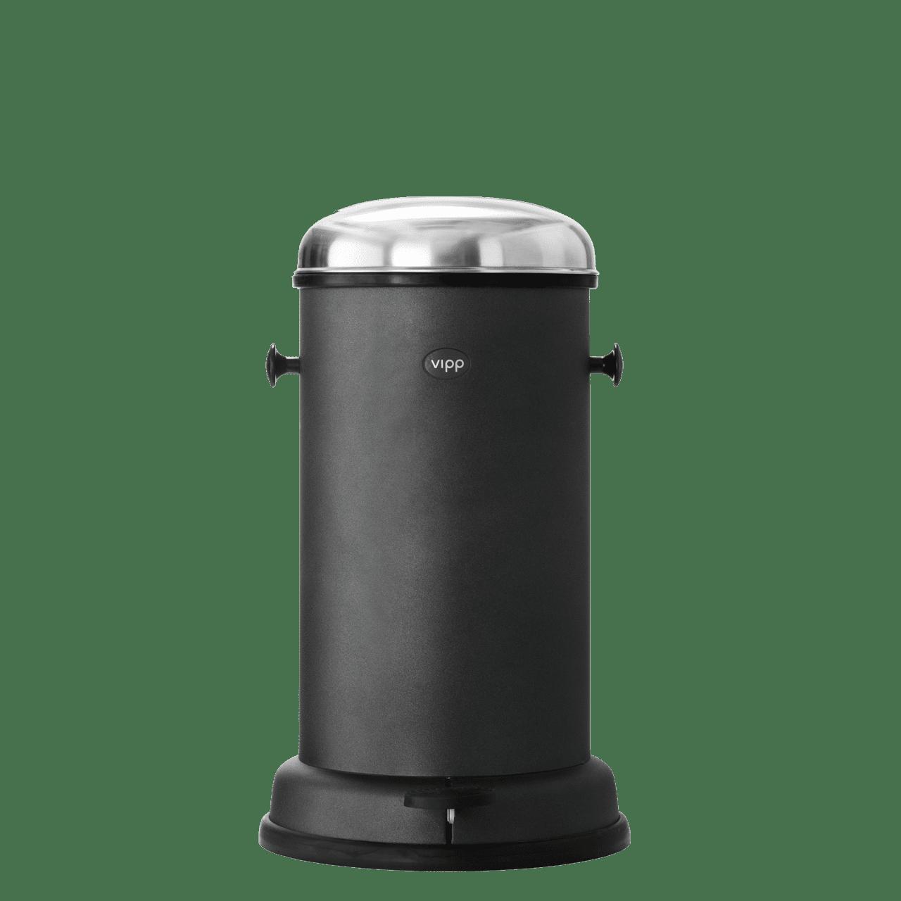 Treteimer Vipp 15 14 Liter schwarz