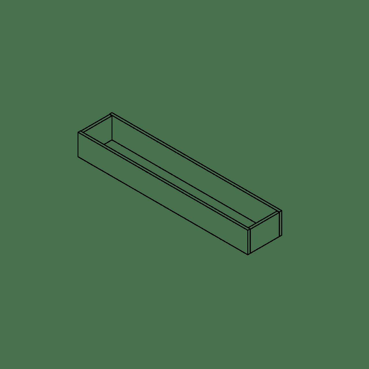 Besteckeinsatz, Distanzstück