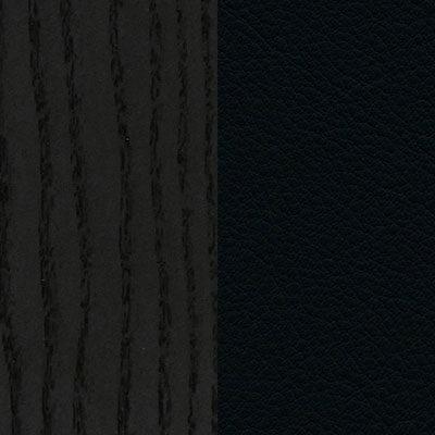 Esche, schwarz/Leder Premium nero