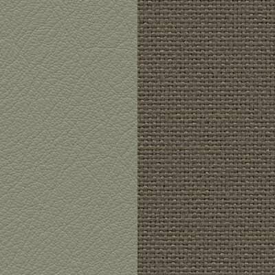 Leder sand/Plano mauve grau