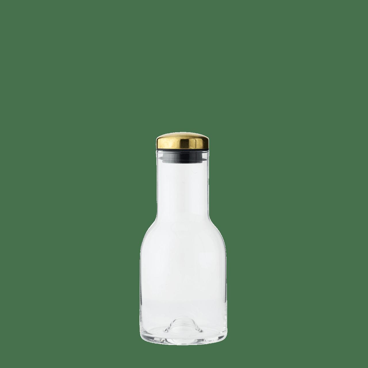 Wasserkaraffe 0,5L mit Messingdeckel