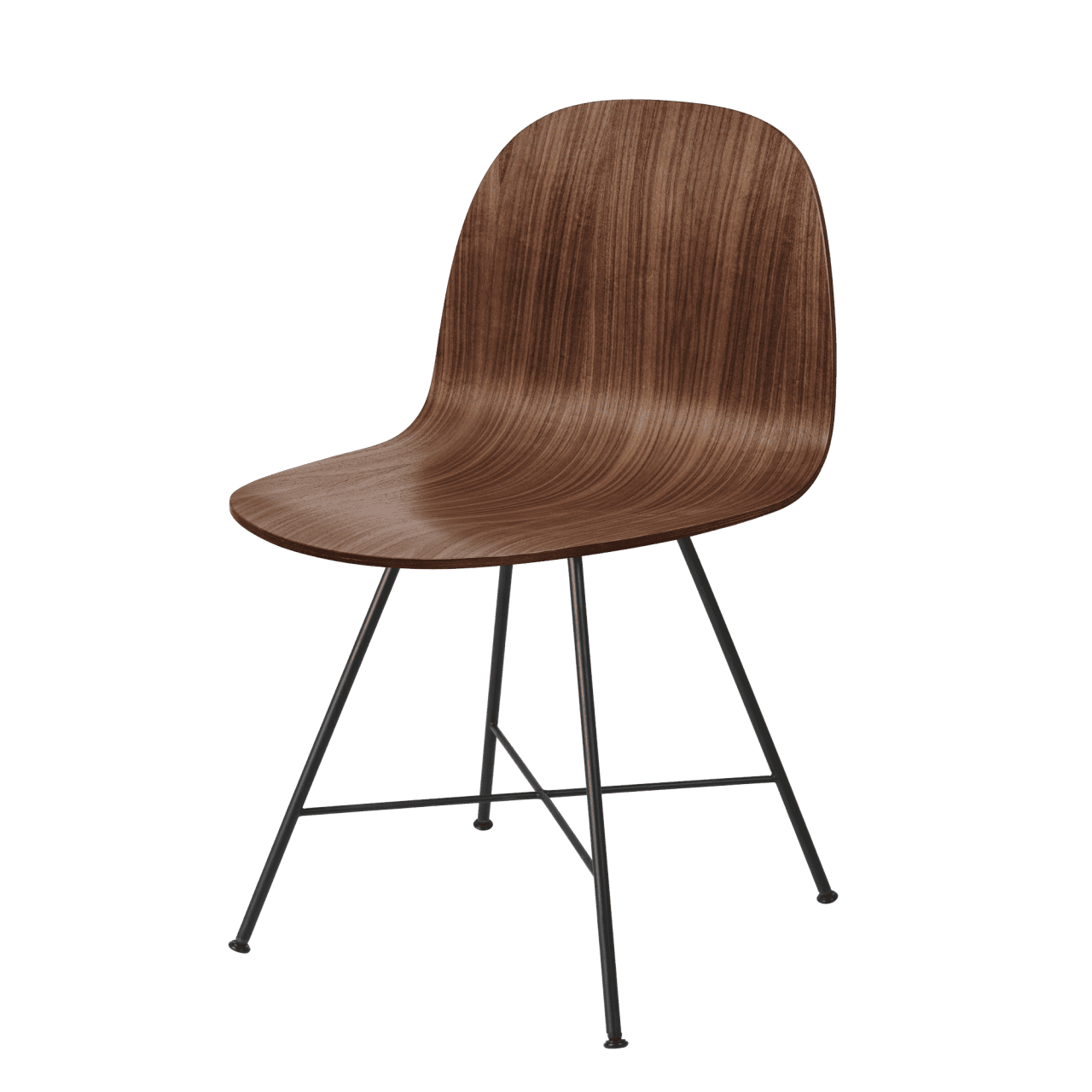 2D Dining Chair Vierbeingestell