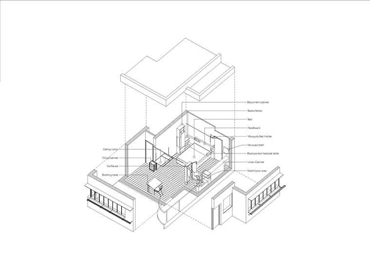 eileen-gray-e-1027-master-bedroom-isometrie-hoidn-wang-partner-auf-einen-besuch-in-eileen-grays-schlafzimmer-am-pariser-platz_66086_33579